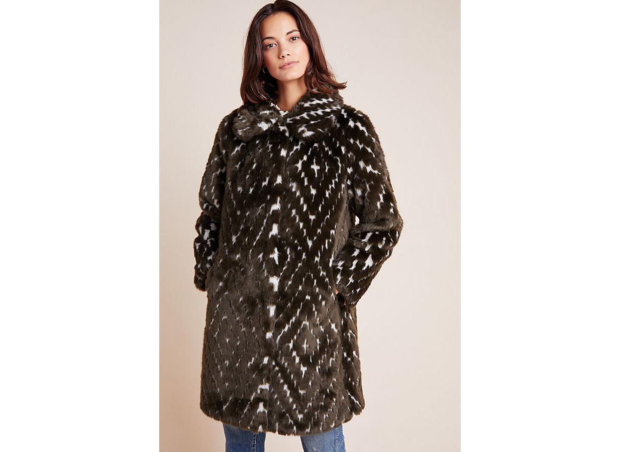 Ruby + Ed Dara Faux Fur Coat