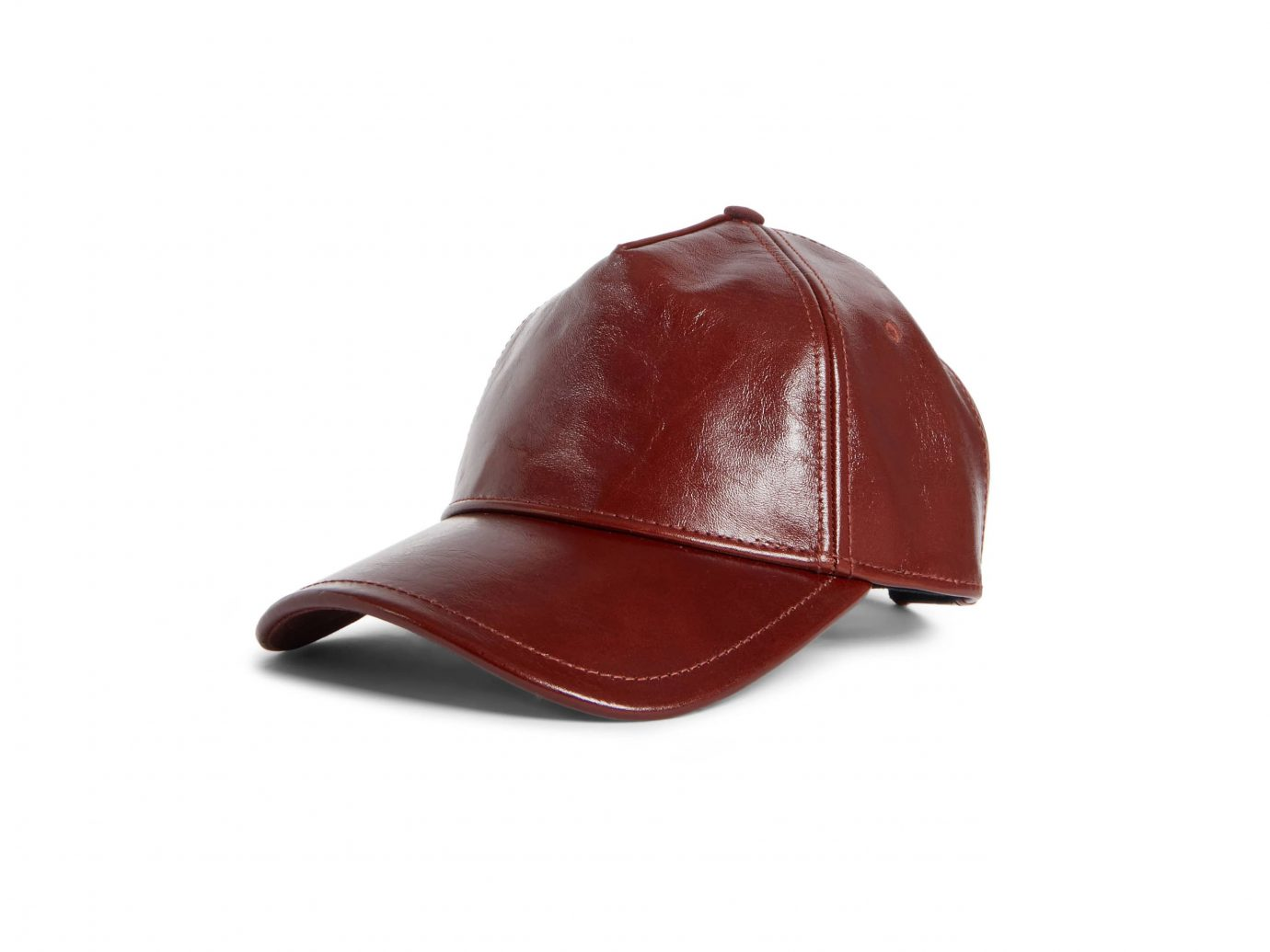 Rag & Bone Marilyn Leather Baseball Cap