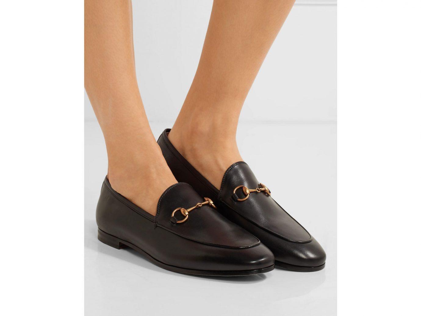 Gucci Jordaan horsebit-detailed leather loafer