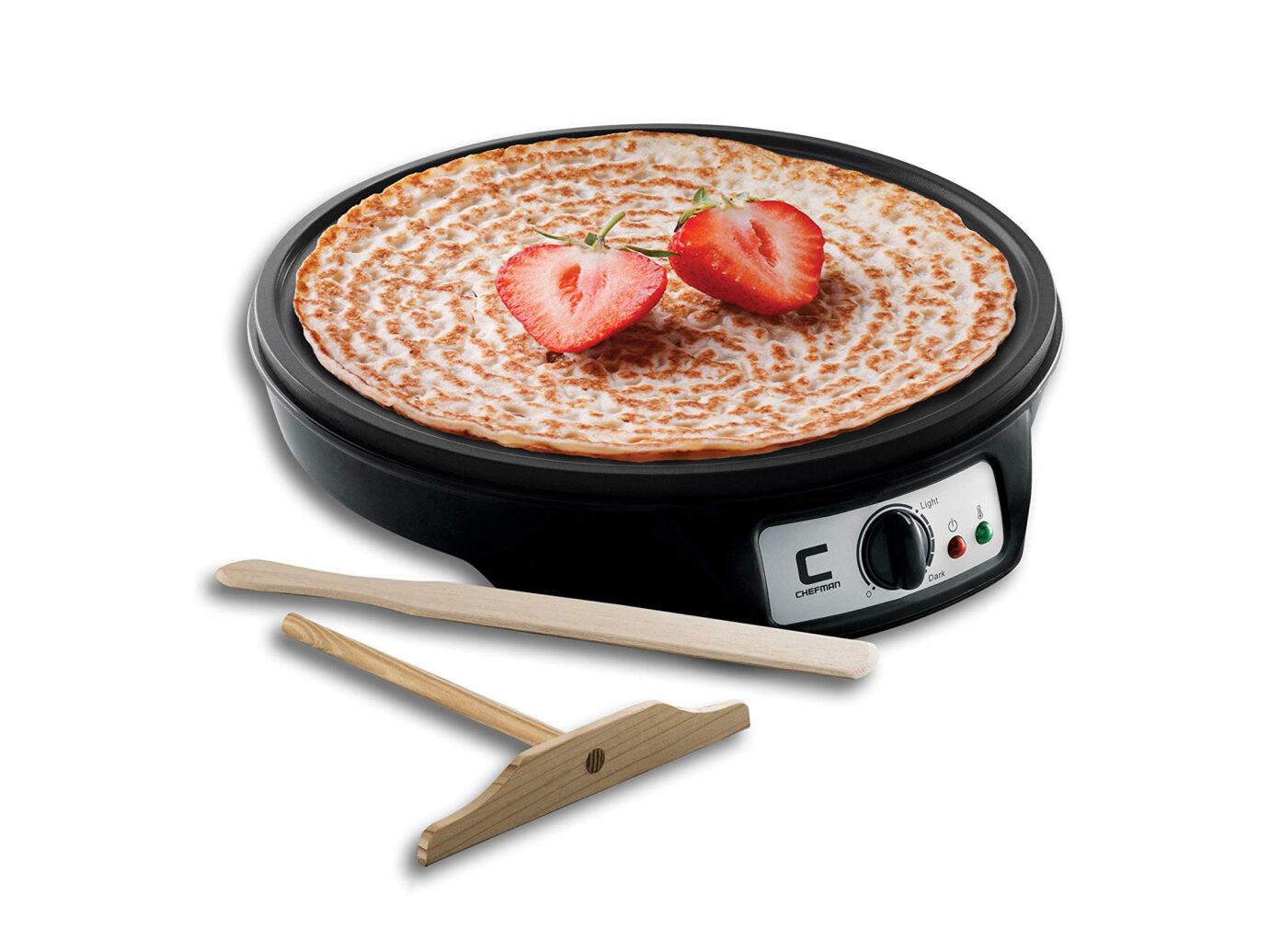 Chefman Electric Crepe Maker Griddle