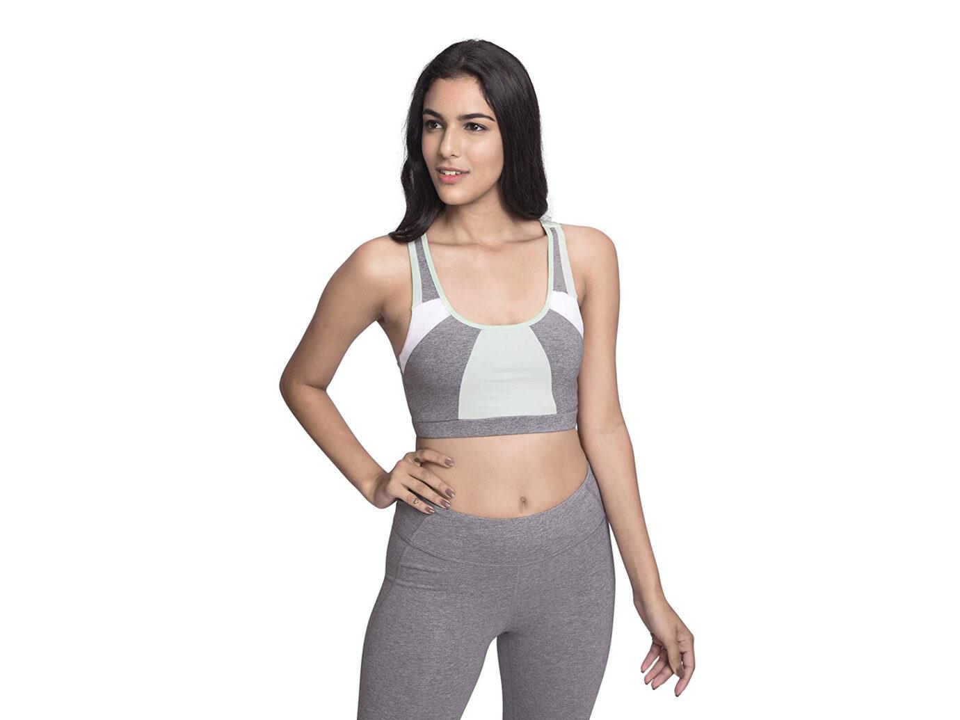 Satva Premium Organic Cotton Strappy Sports Bra