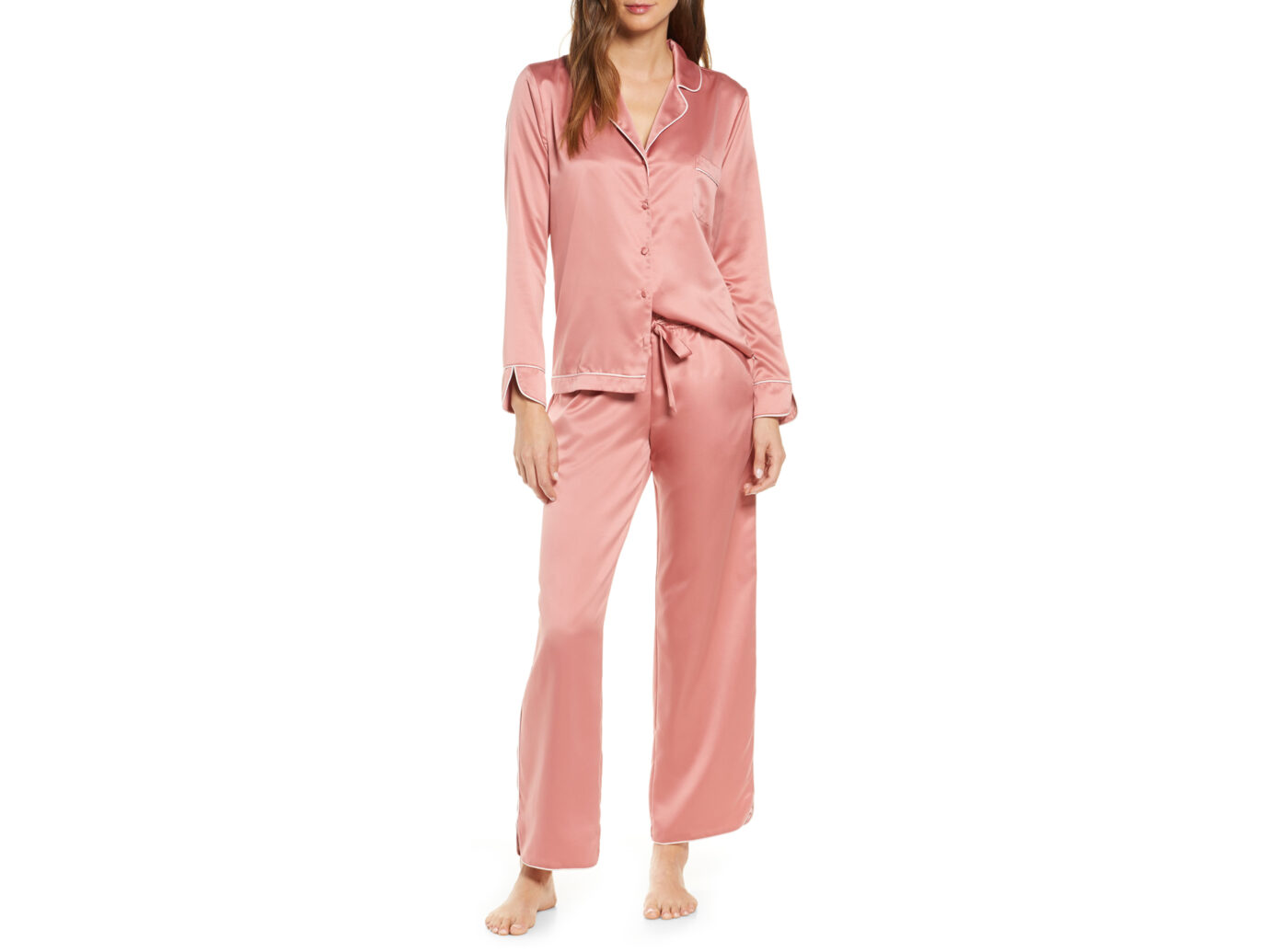 Rachel Parcell Satin Pajamas