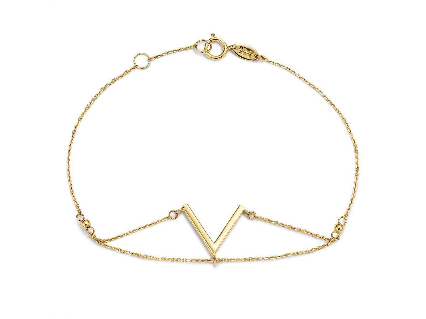 Moon & Meadow V Chain Bracelet in 14K Yellow Gold