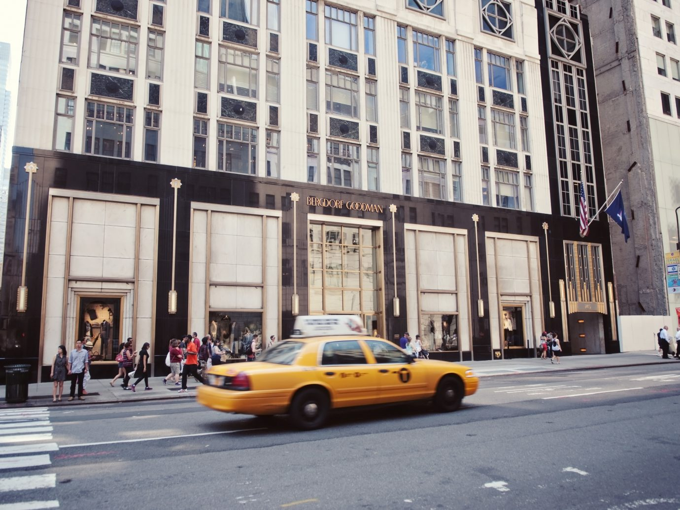 Bergdorf Goodman retail store In New York City