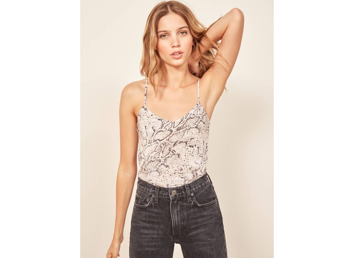 Reformation Beth Top in Python