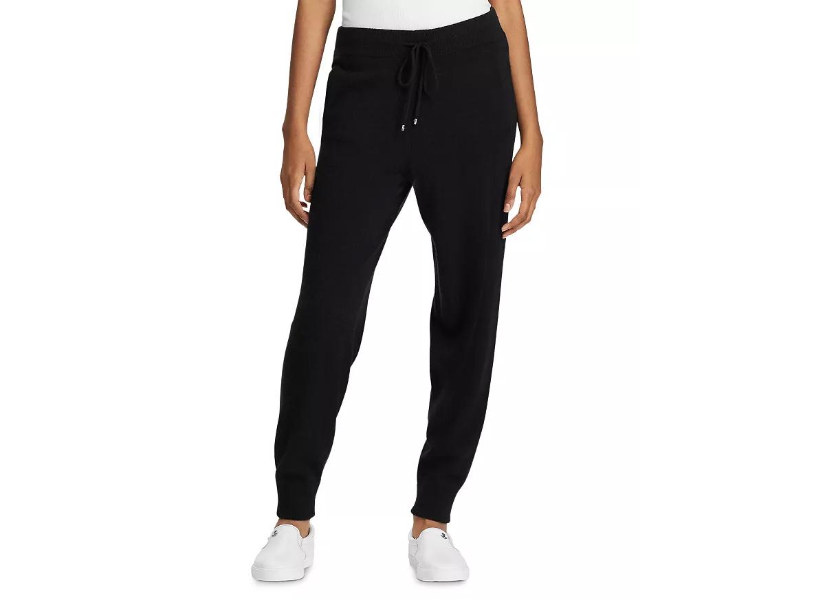 Lauren Ralph Lauren Washable Cashmere Jogger Pants
