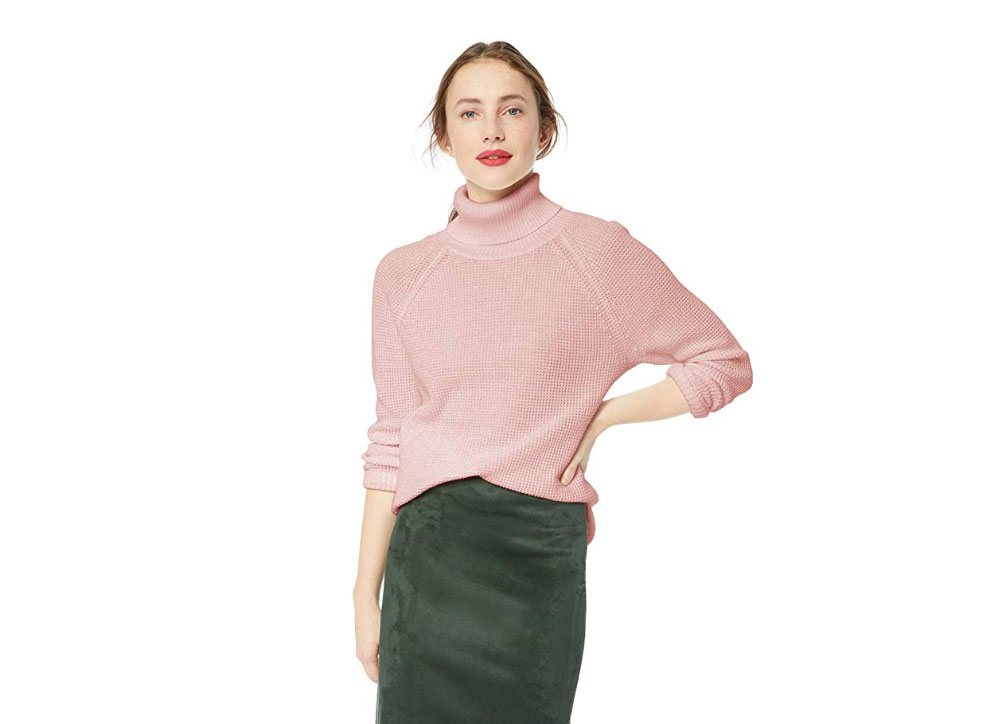 J. Crew Mercantile Women's Turtleneck Top
