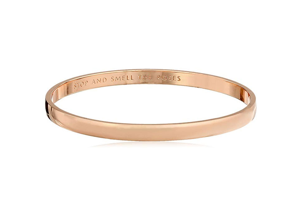 Kate Spade New York Stop and Smell The Roses Idiom Bangle