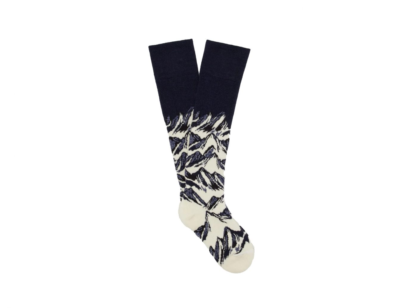 Fusalp Mountain-intarsia wool-blend ski socks