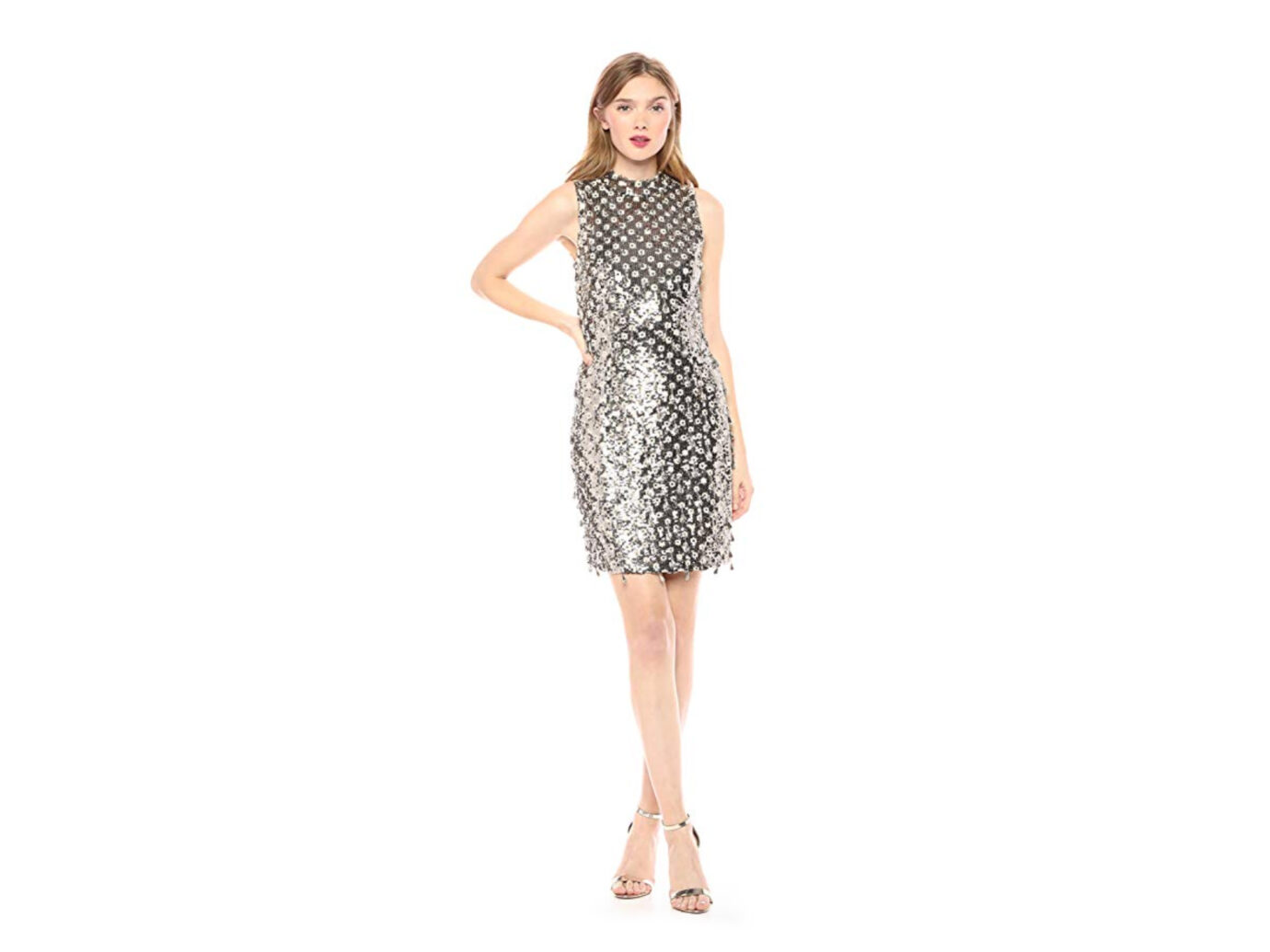 French Connection Women's All Over Sequin Dress