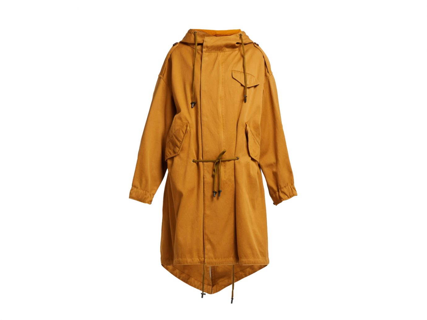 Isabel Marant Étoile Duffy oversized cotton parka