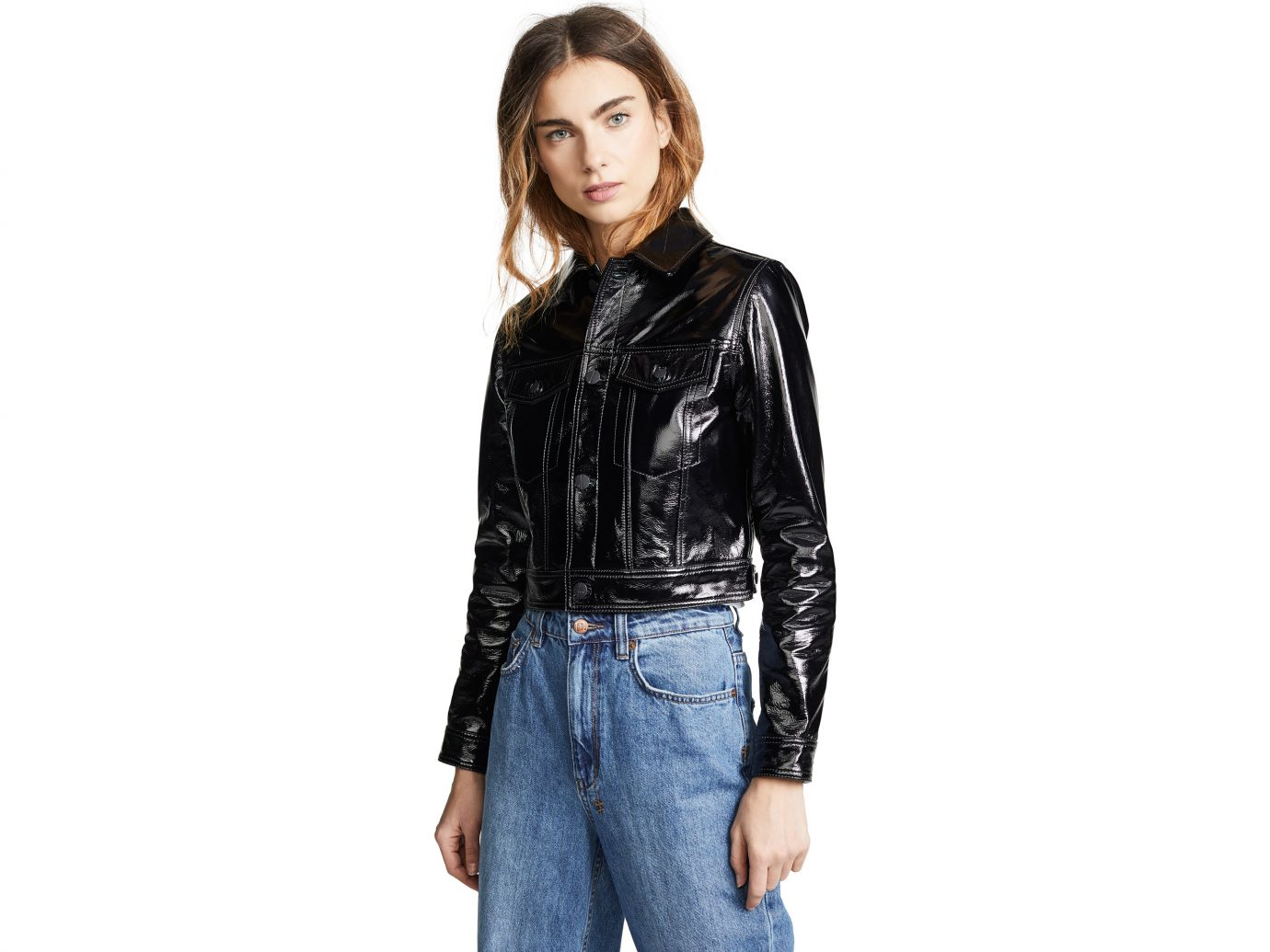 Ksubi A2B Patent Leather Jacket
