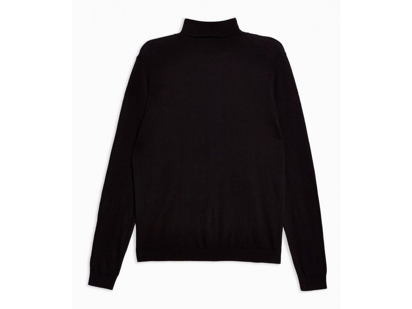 Top Man Black Turtleneck