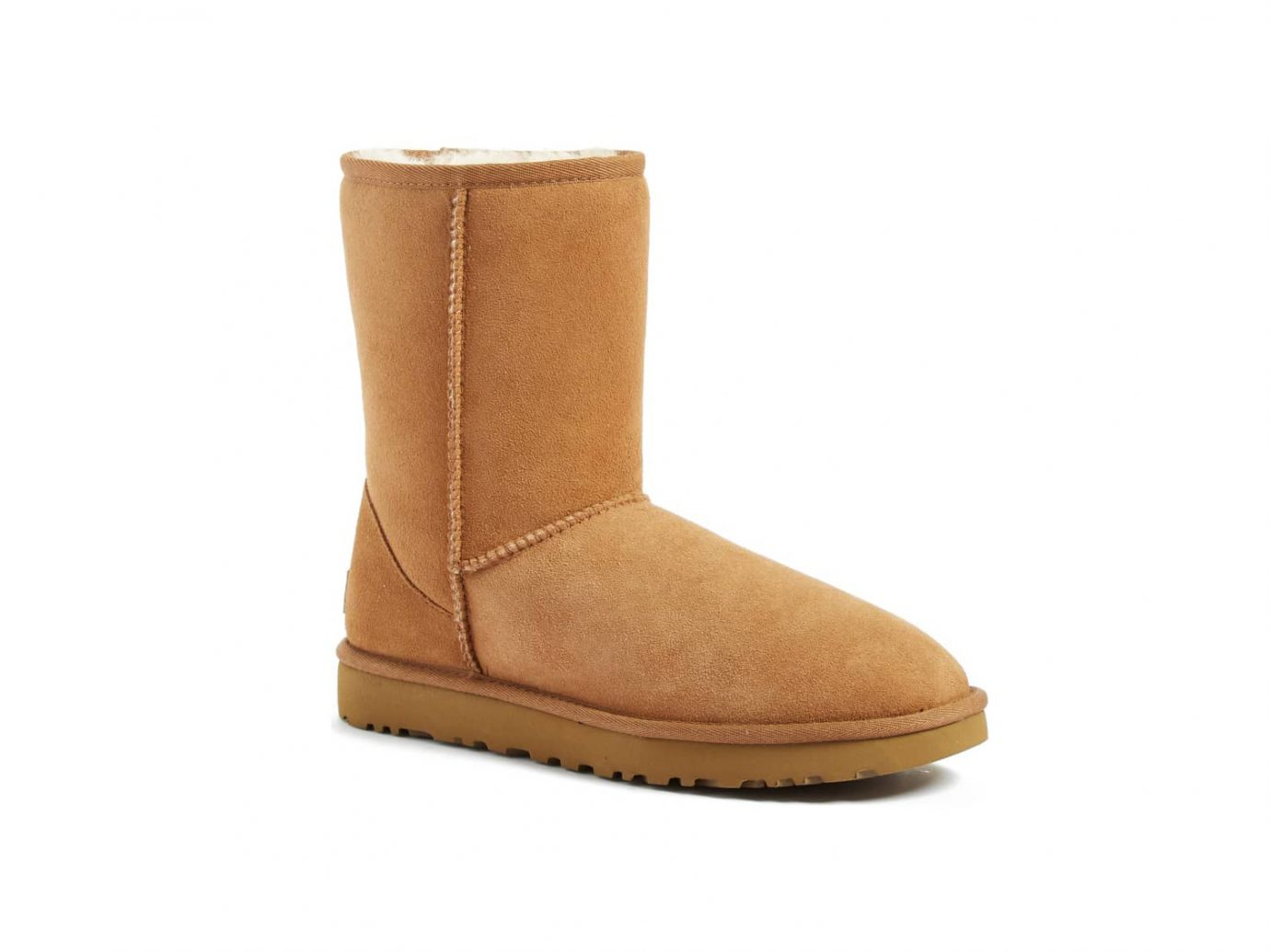 'Classic II' Genuine Shearling Lined Short Boot