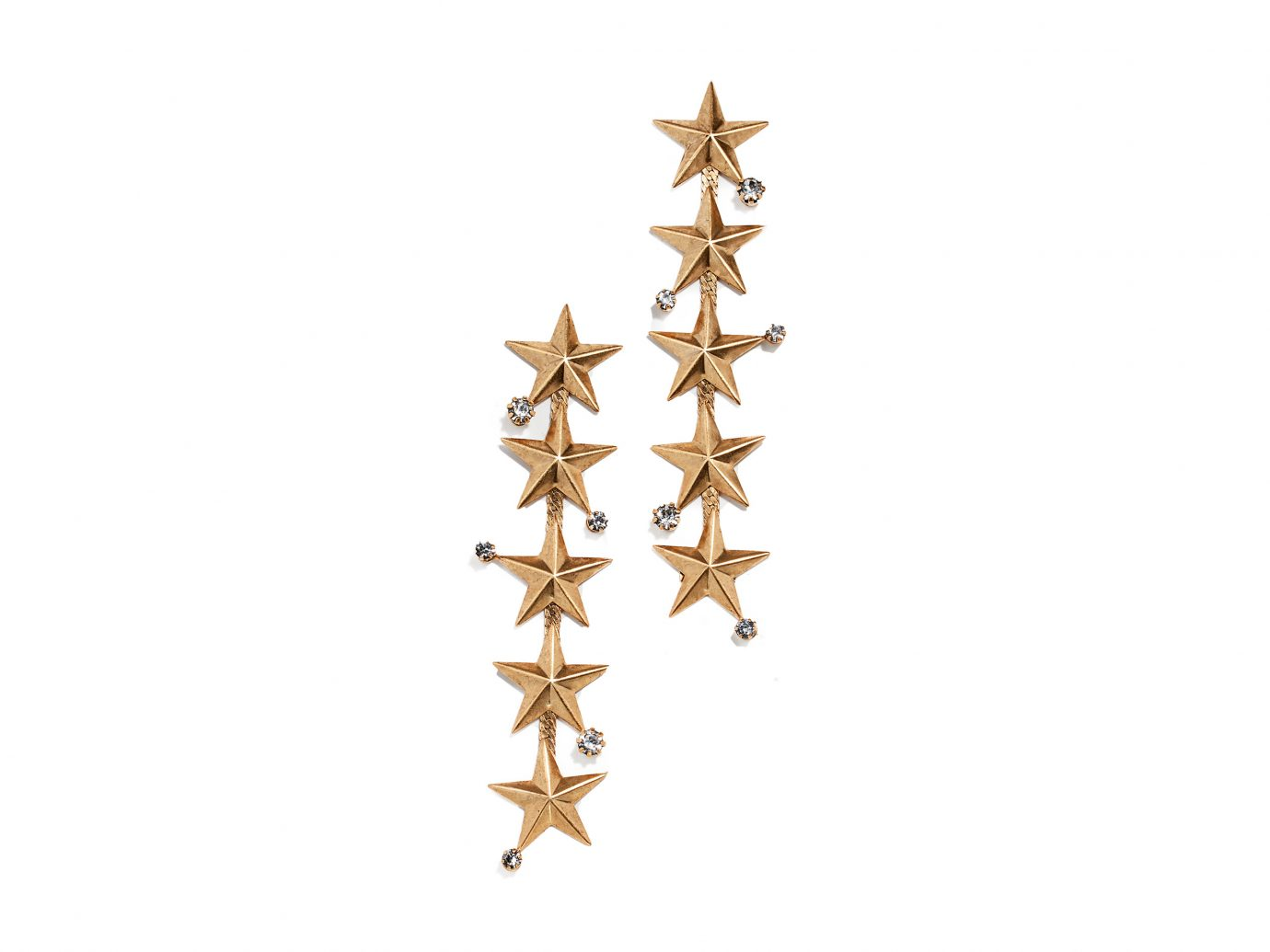 Elizabeth Cole Star Drop Earrings