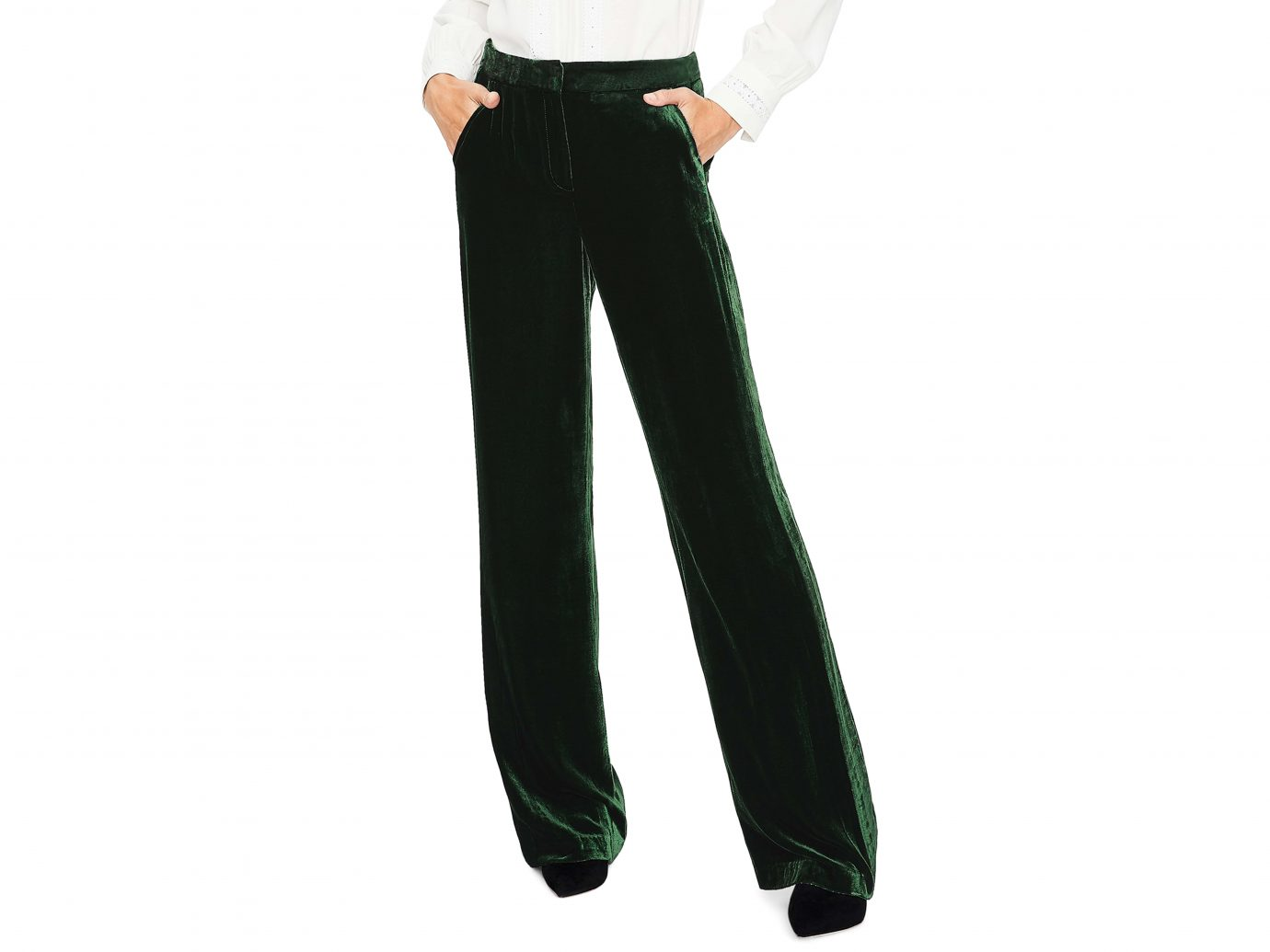 Selwood Velvet Wide Leg Pants