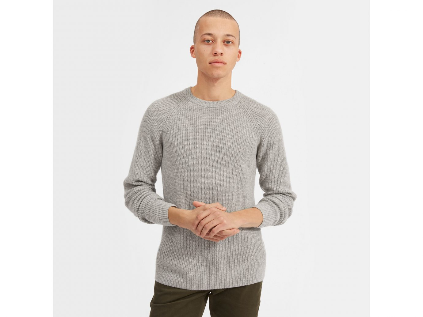 Everlane The Cashmere Rib Raglan