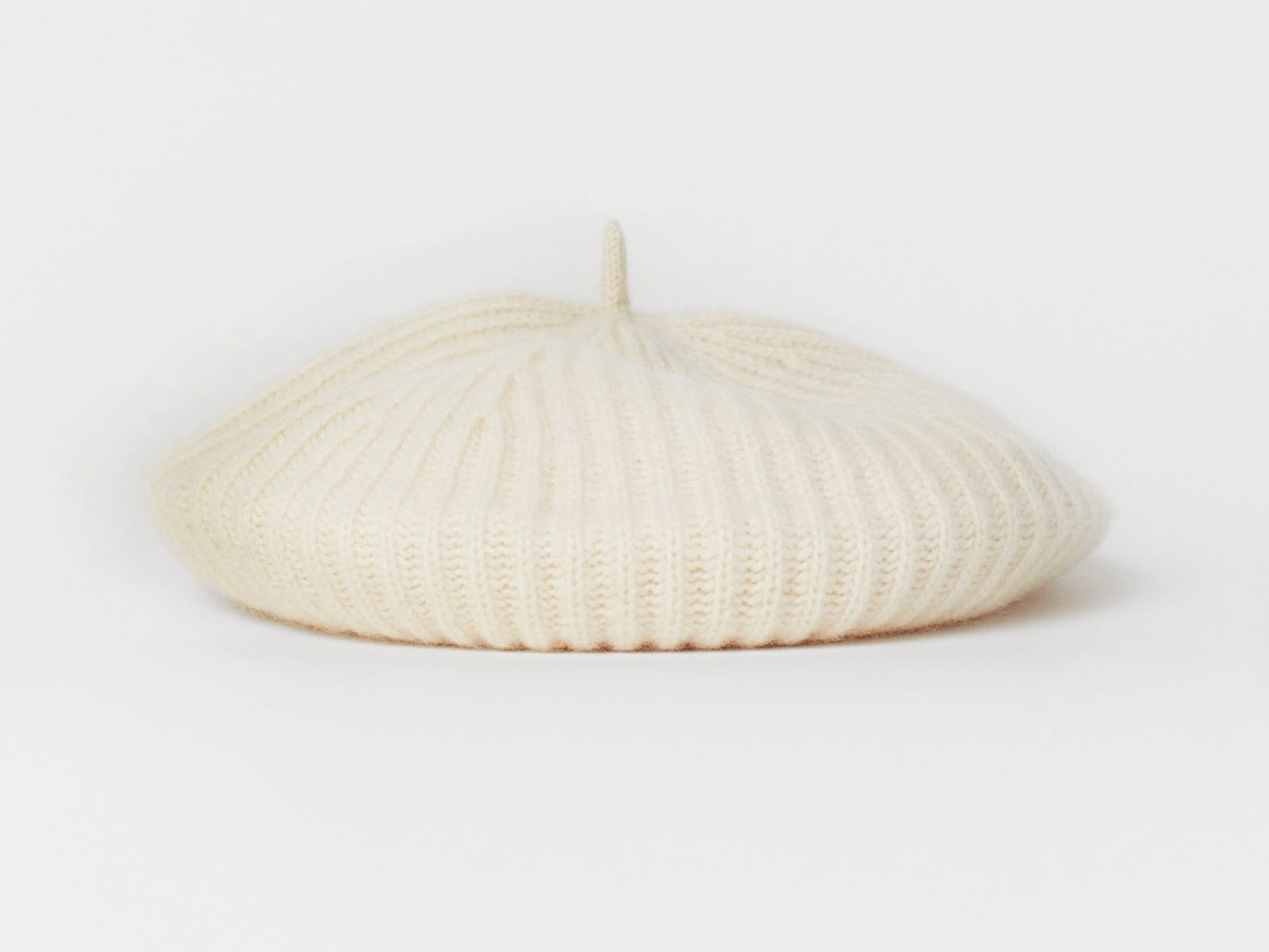 H&M Ribbed Cashmere Beret