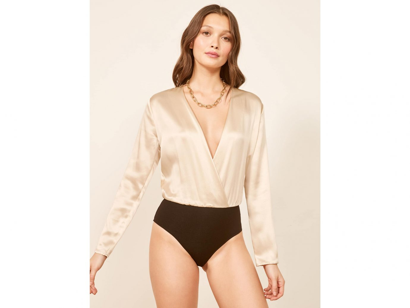 Aerin Bodysuit in ivory