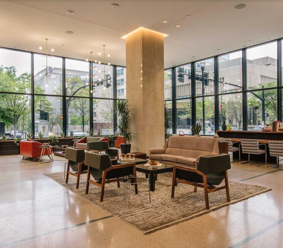 Lobby at Fairlane Hotel