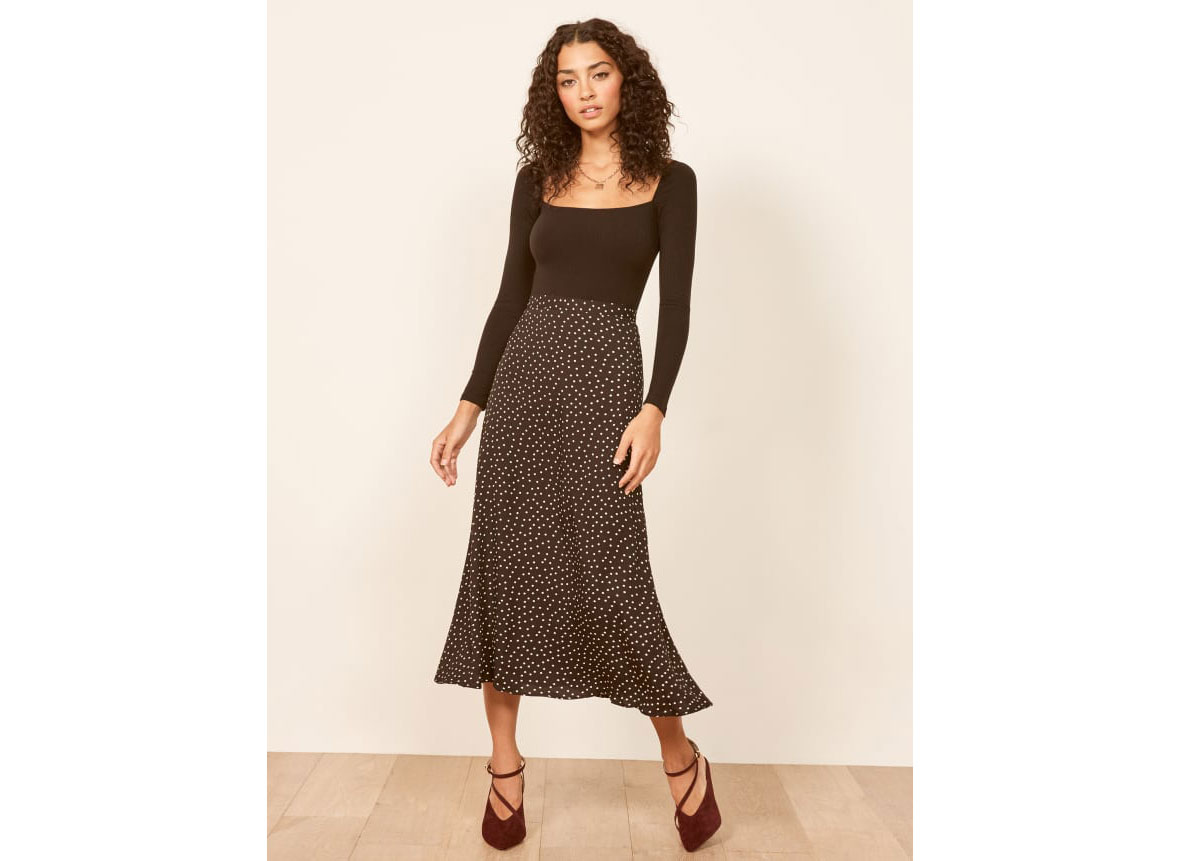 Reformation Bea Skirt in Selene