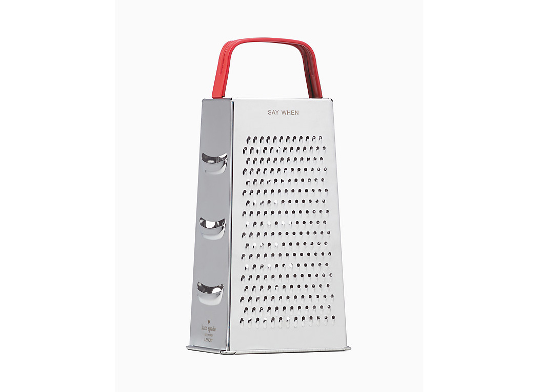 """""""Say When"""" Cheese Grater"""