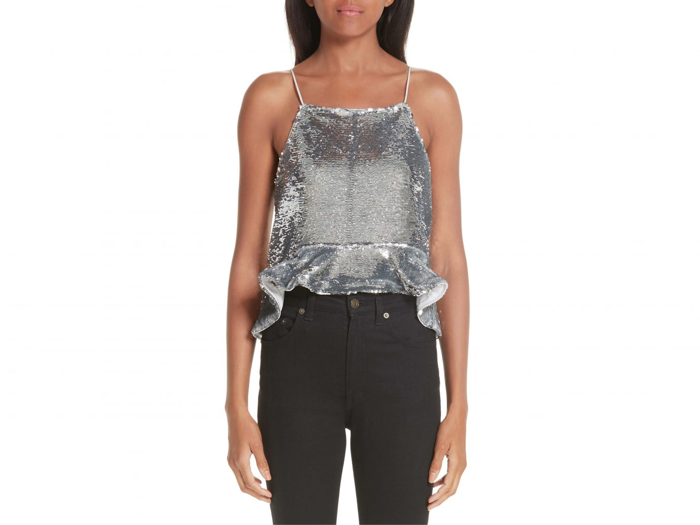 Ganni Sequin Top
