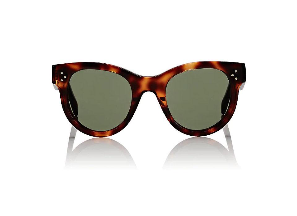 CÉLINE Rounded Cat-Eye Sunglasses