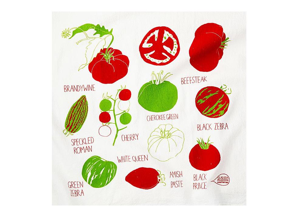 You Say Tomato Tea Towel