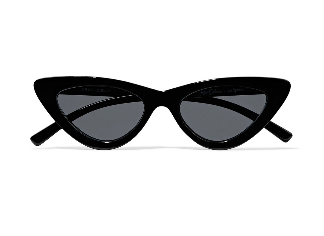 Le Specs + Adam Selman The Last Lolita Cat-eye Sunglasses