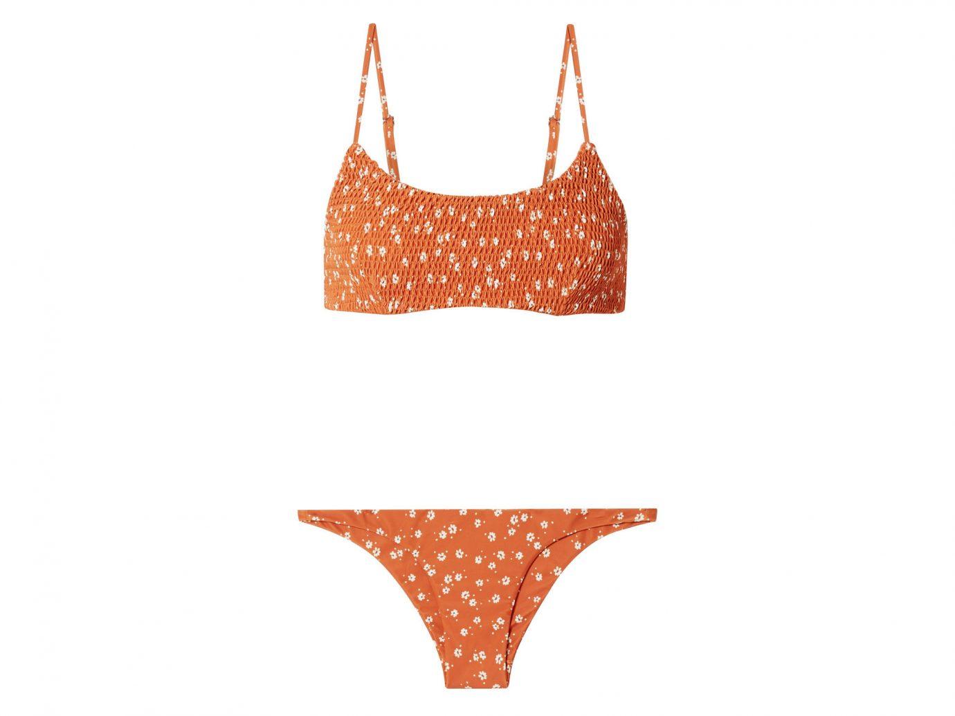 FAITHFULL THE BRAND Lindsay and Luna Shirred Floral-Print Bikini