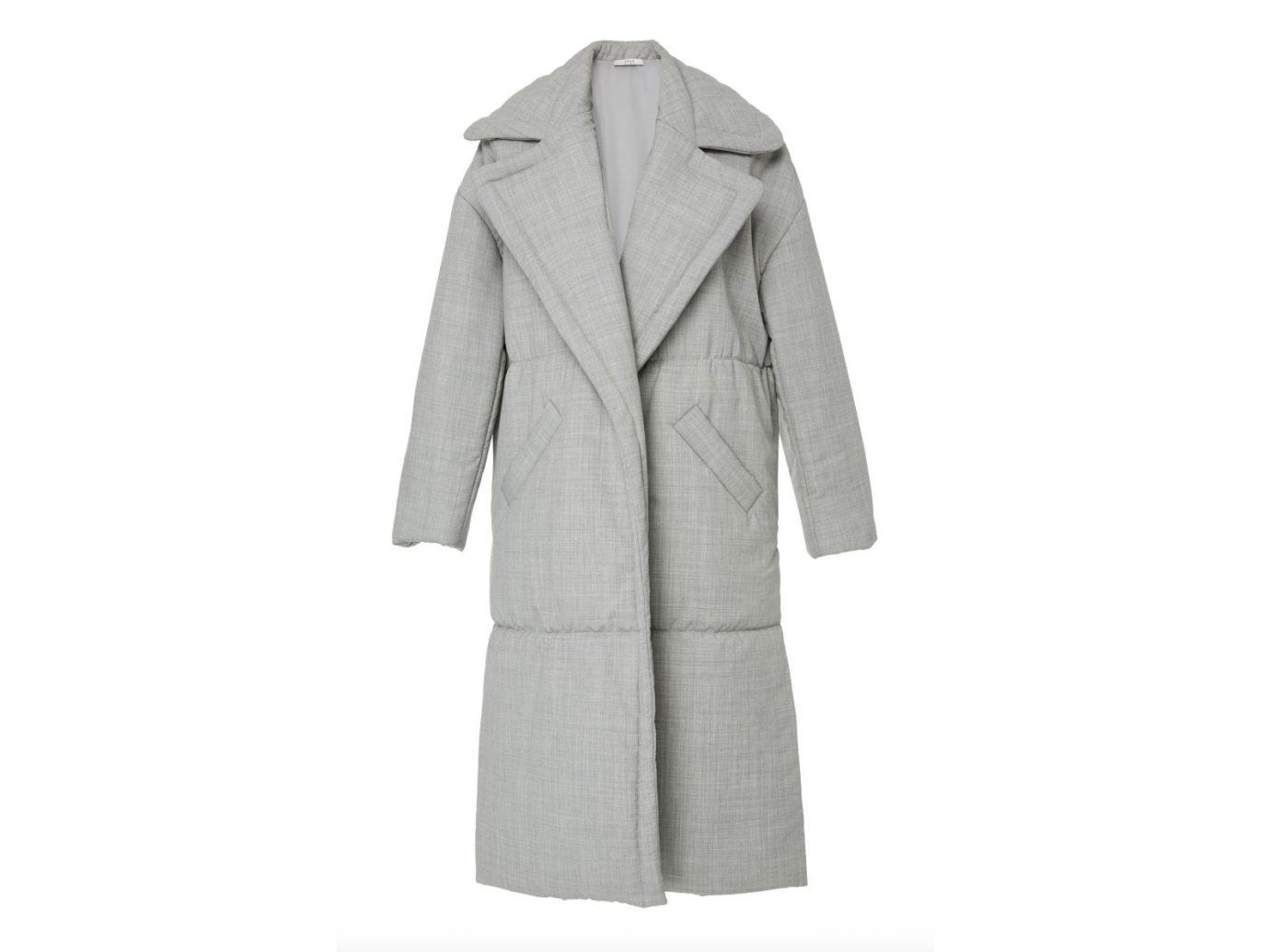 Yeon M'O Exclusive Ianthi Oversized Wool Puffer Coat