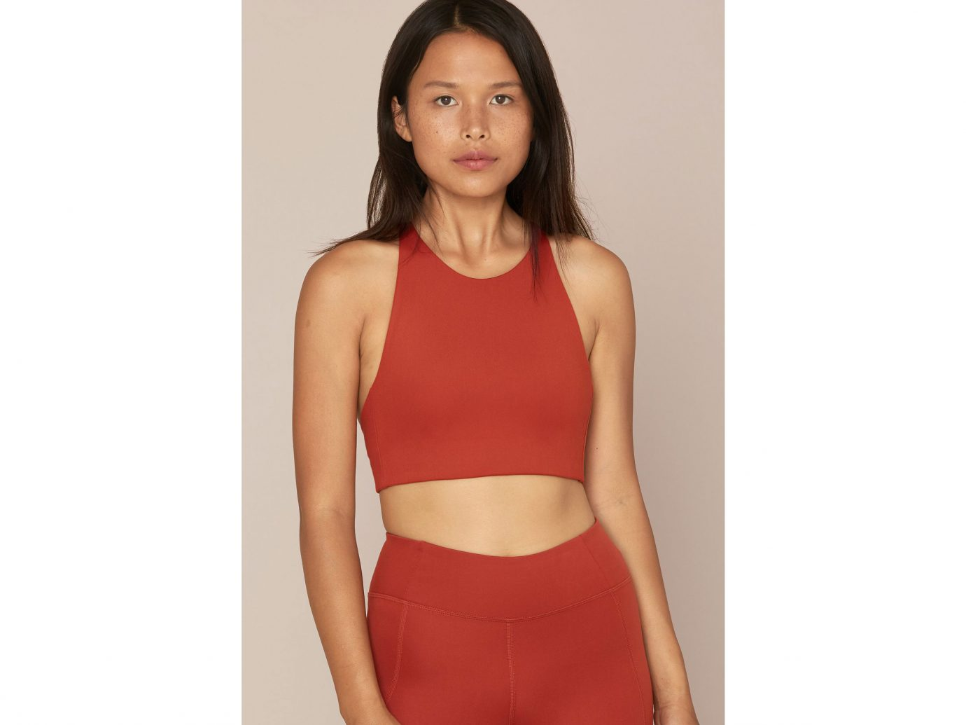 Girlfriend Collective Red Ochre Topanga Bra