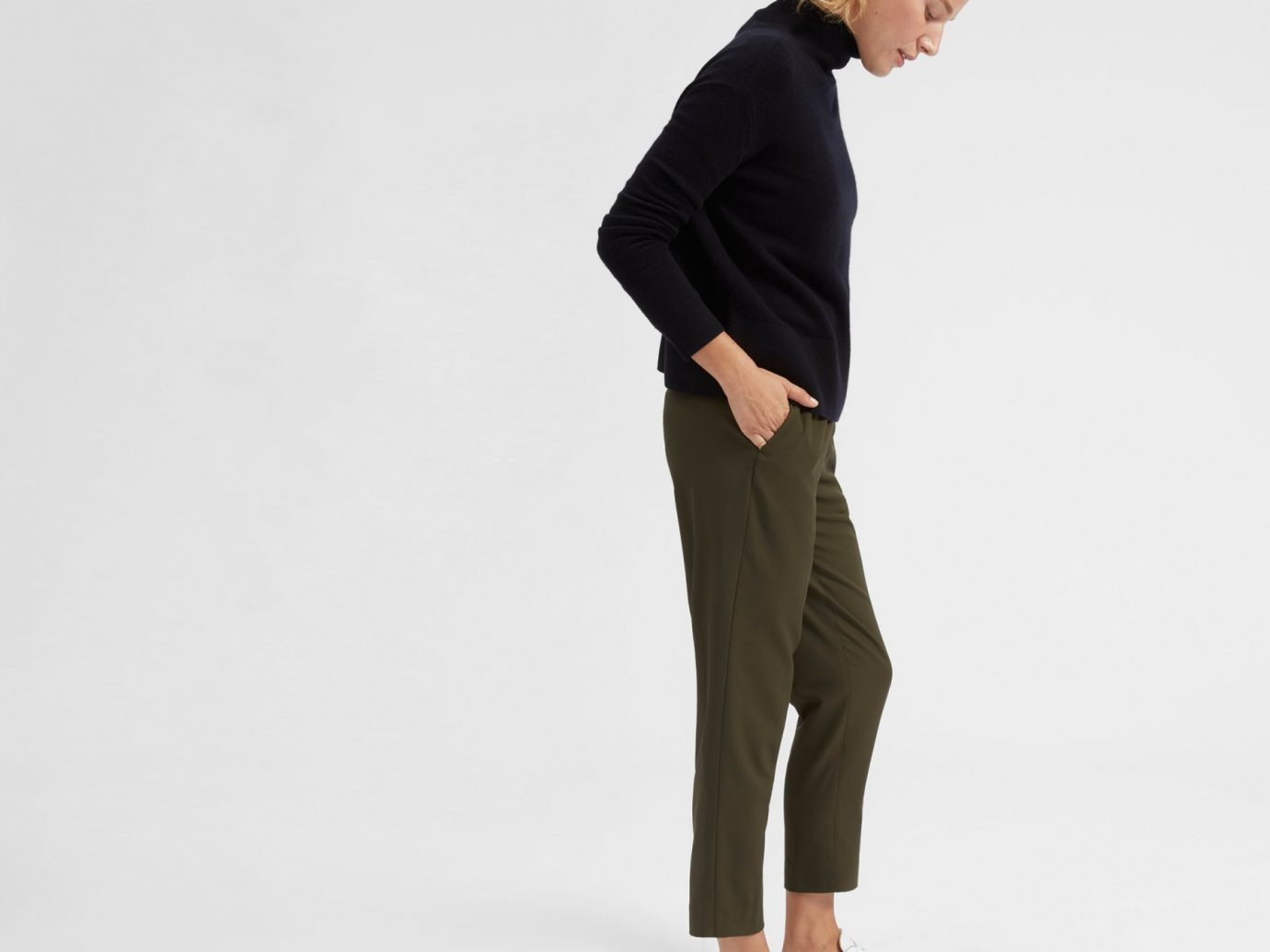 Everlane The Italian GoWeave Easy Pant
