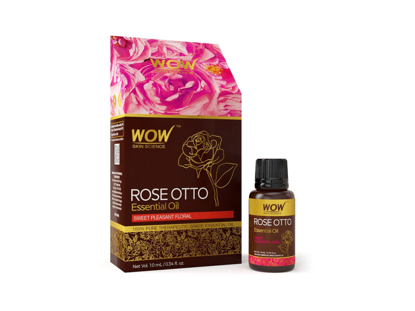 WOW Rose Otto Essential Oil