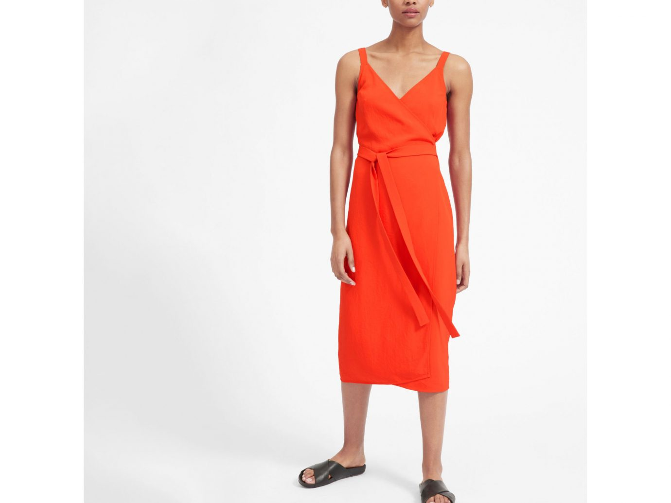 Everlane The Japanese GoWeave Tank Wrap Dress