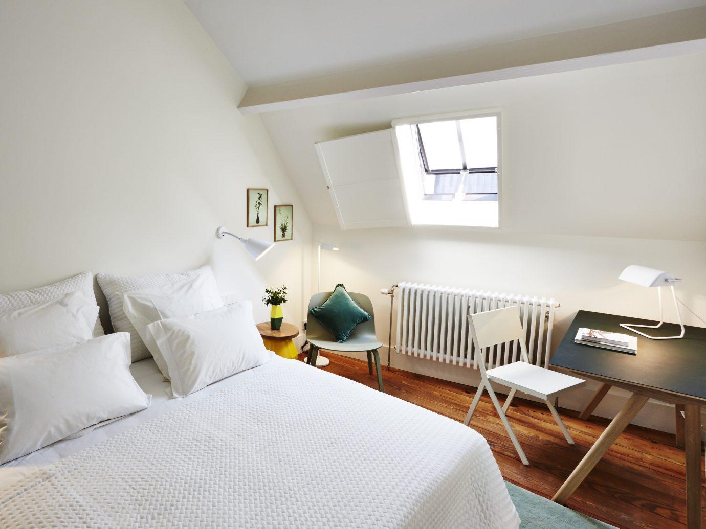 Bedroom at Hotel des Galeries