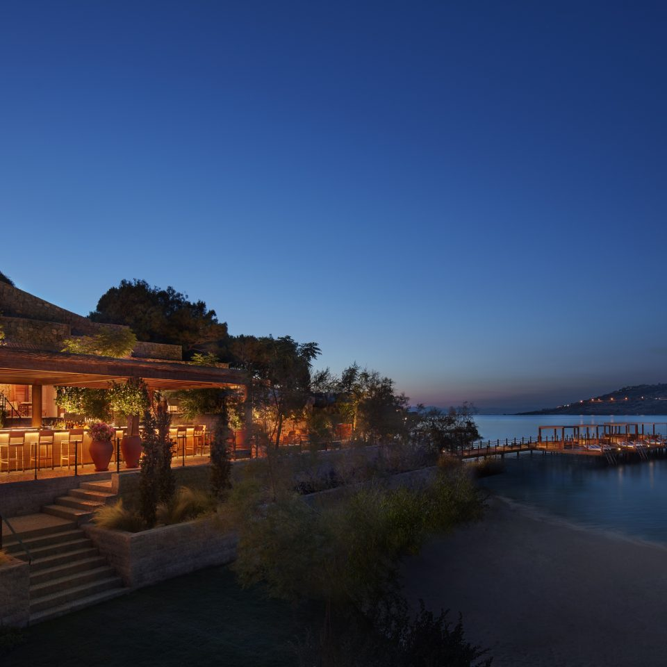 The Bodrum EDITION at night