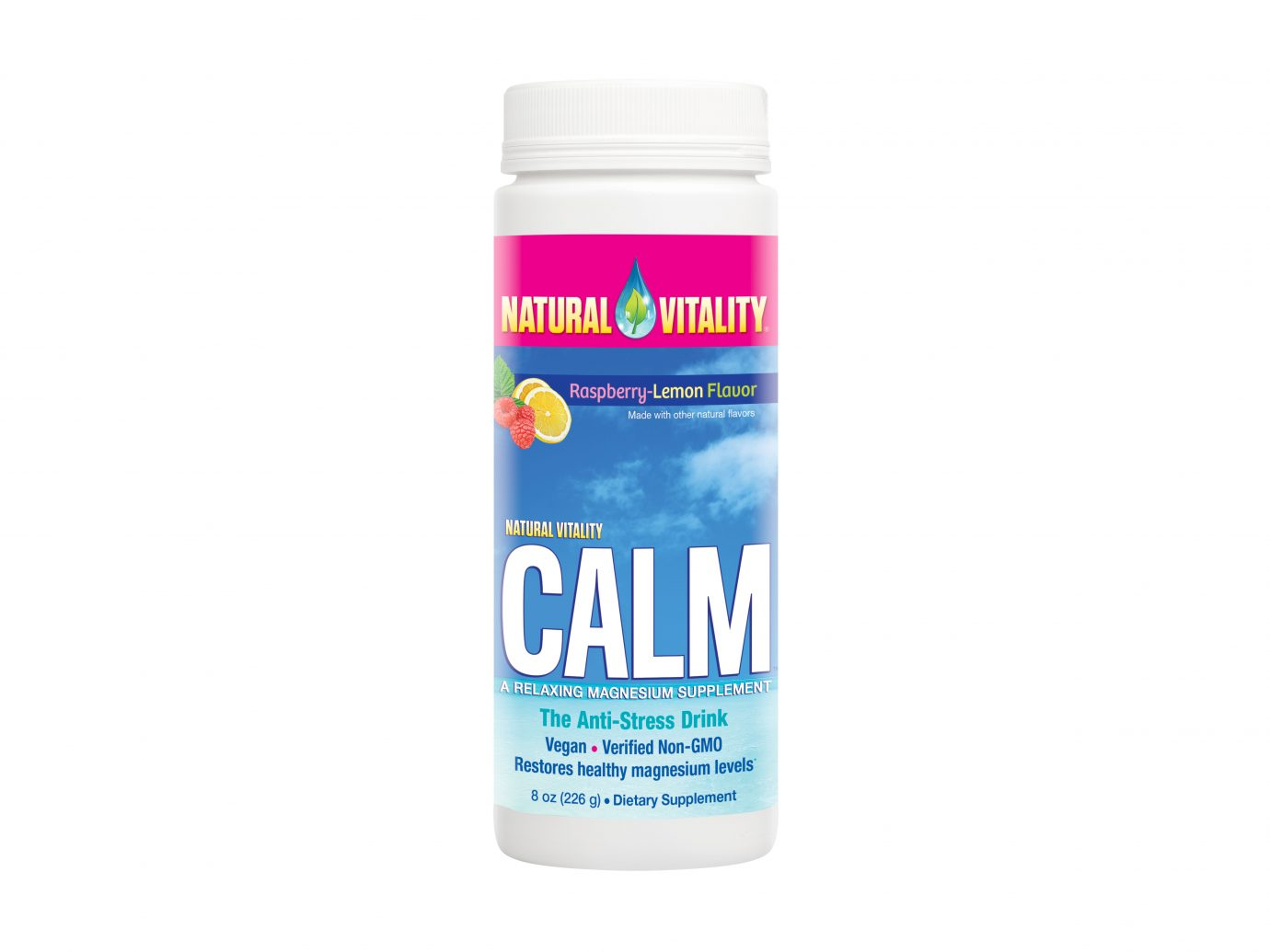 Natural Calm Raspberry Lemon