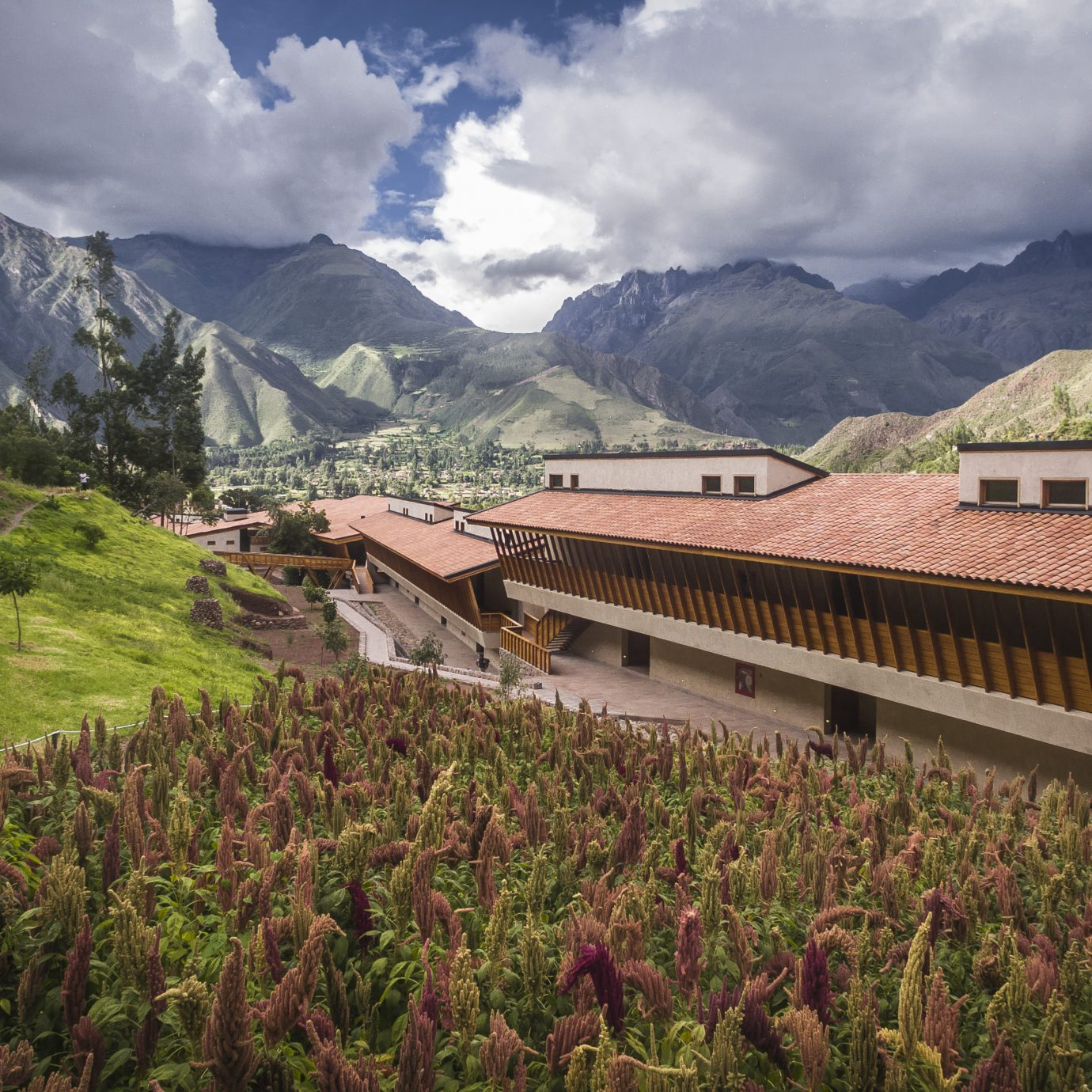 Exterior of Explora Valle Sagrado