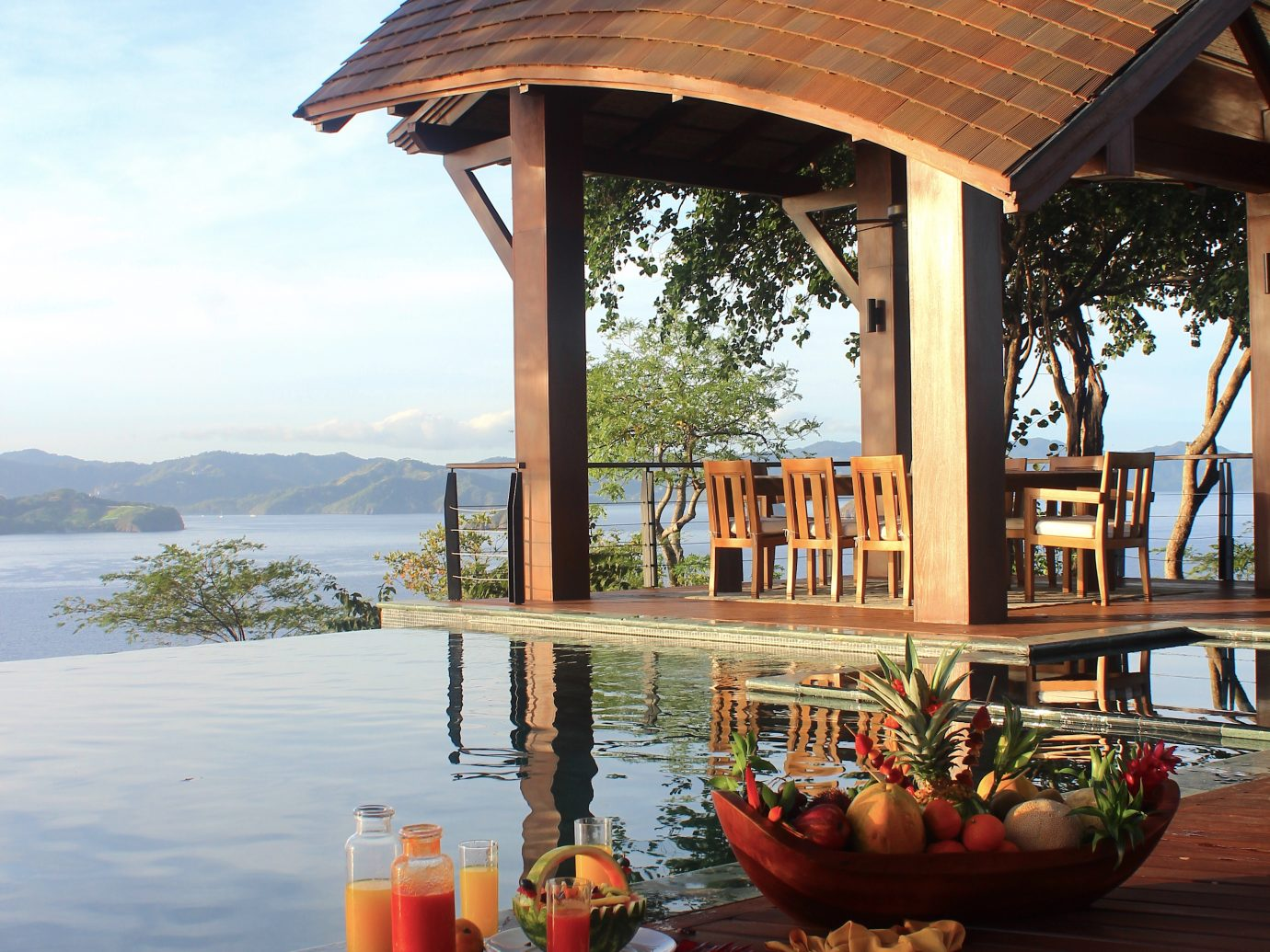 Breakfast at the Four Seasons Costa Rica