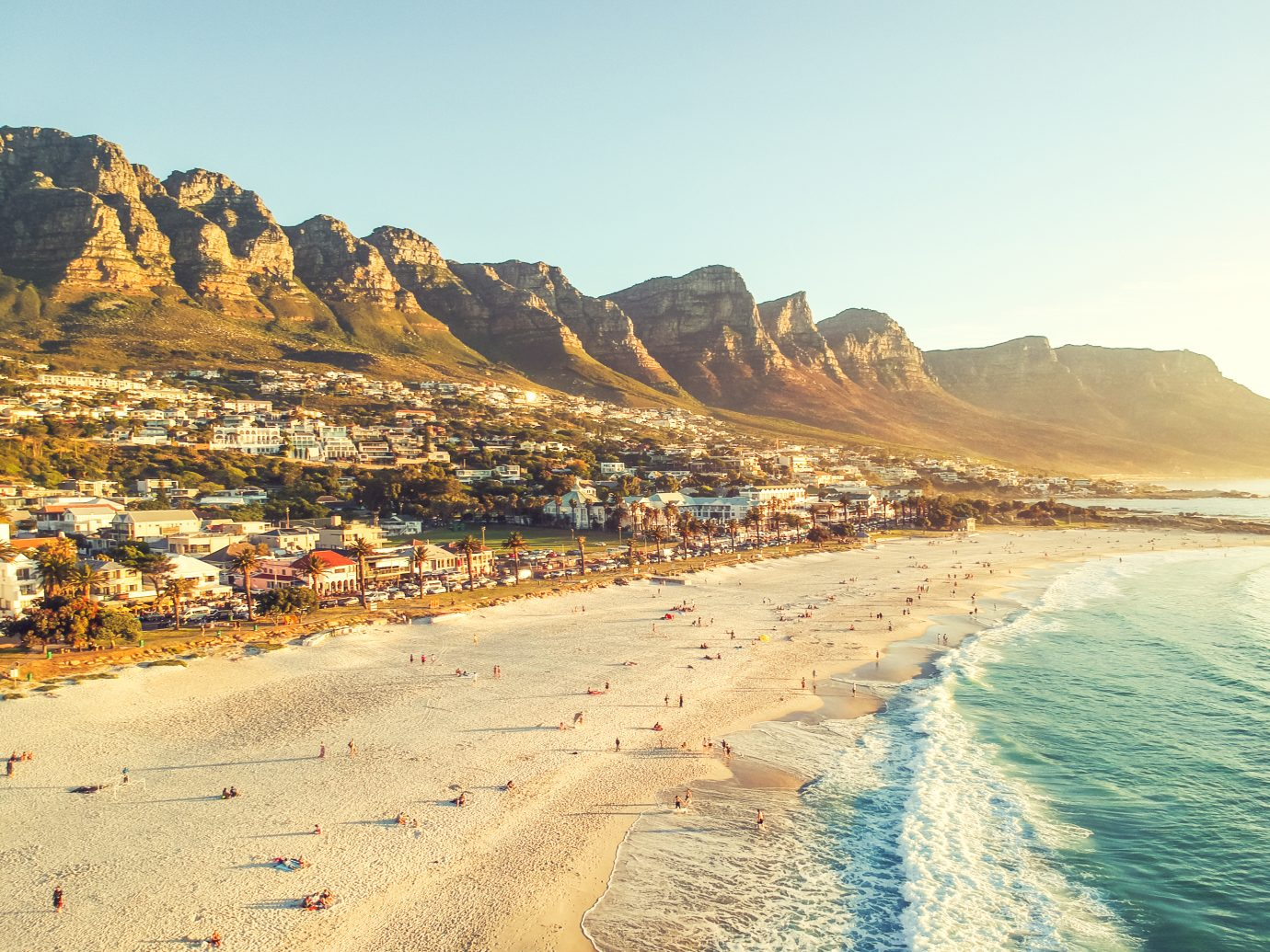 Camps Bay, of Cape Town, Western Cape, South Africa.