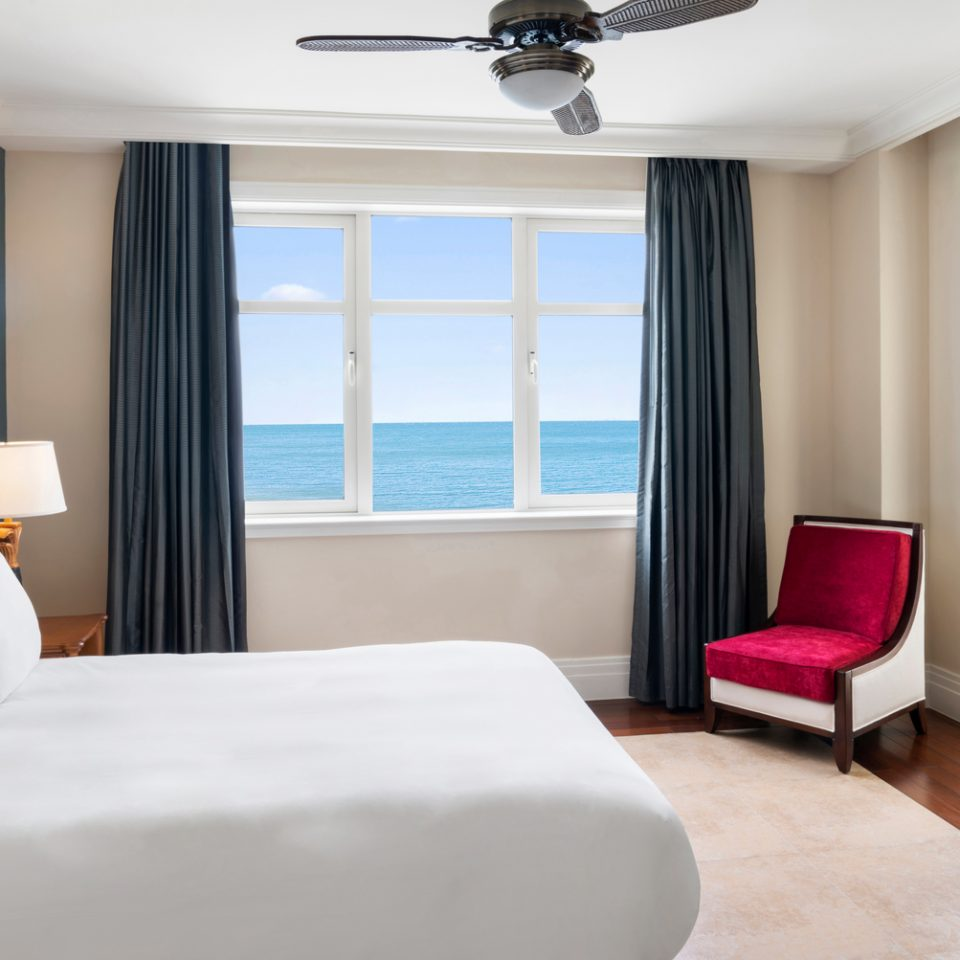 suite with a beach view