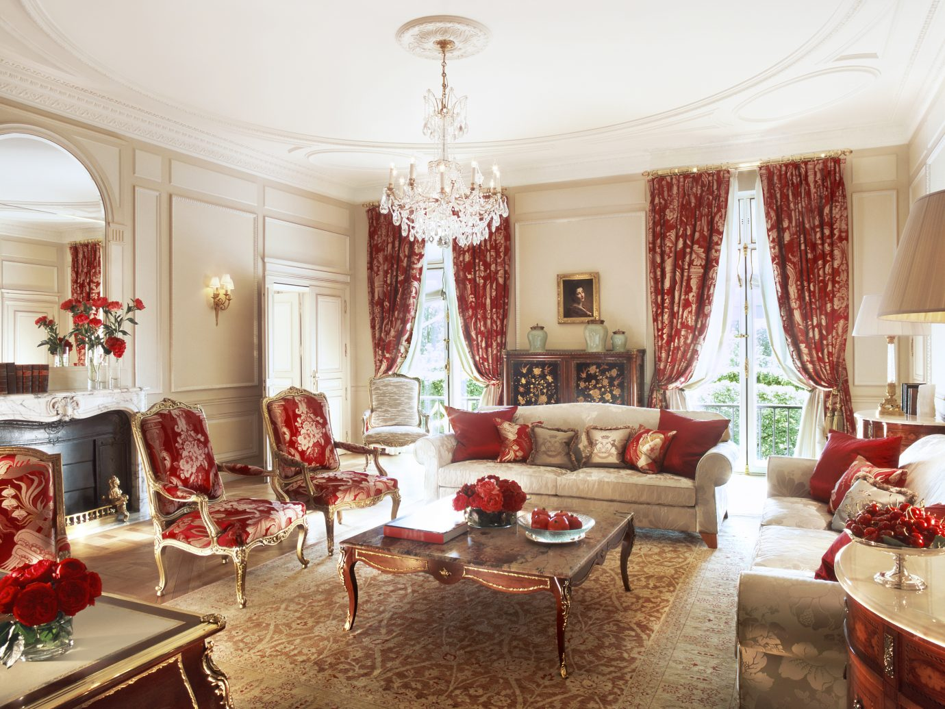 Presidential Suite at Le Meurice