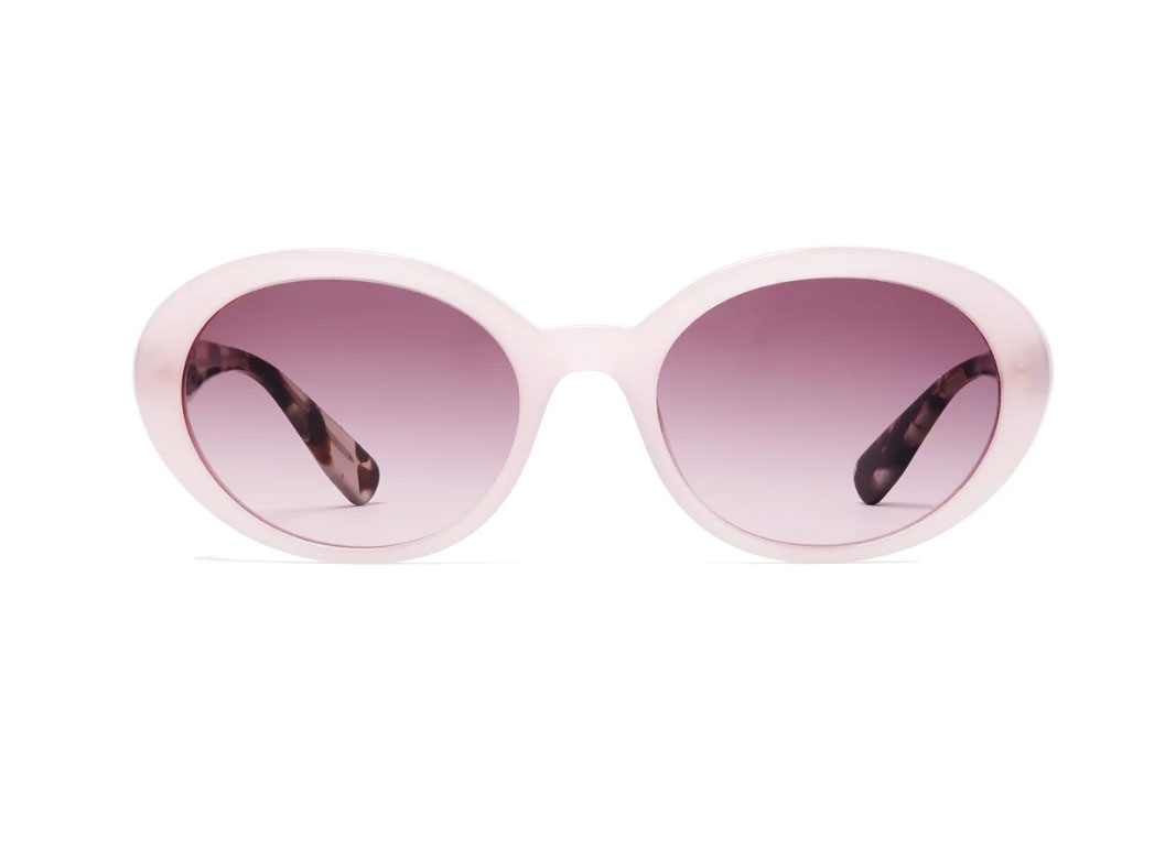 MIU MIU Oval-frame acetate sunglasses
