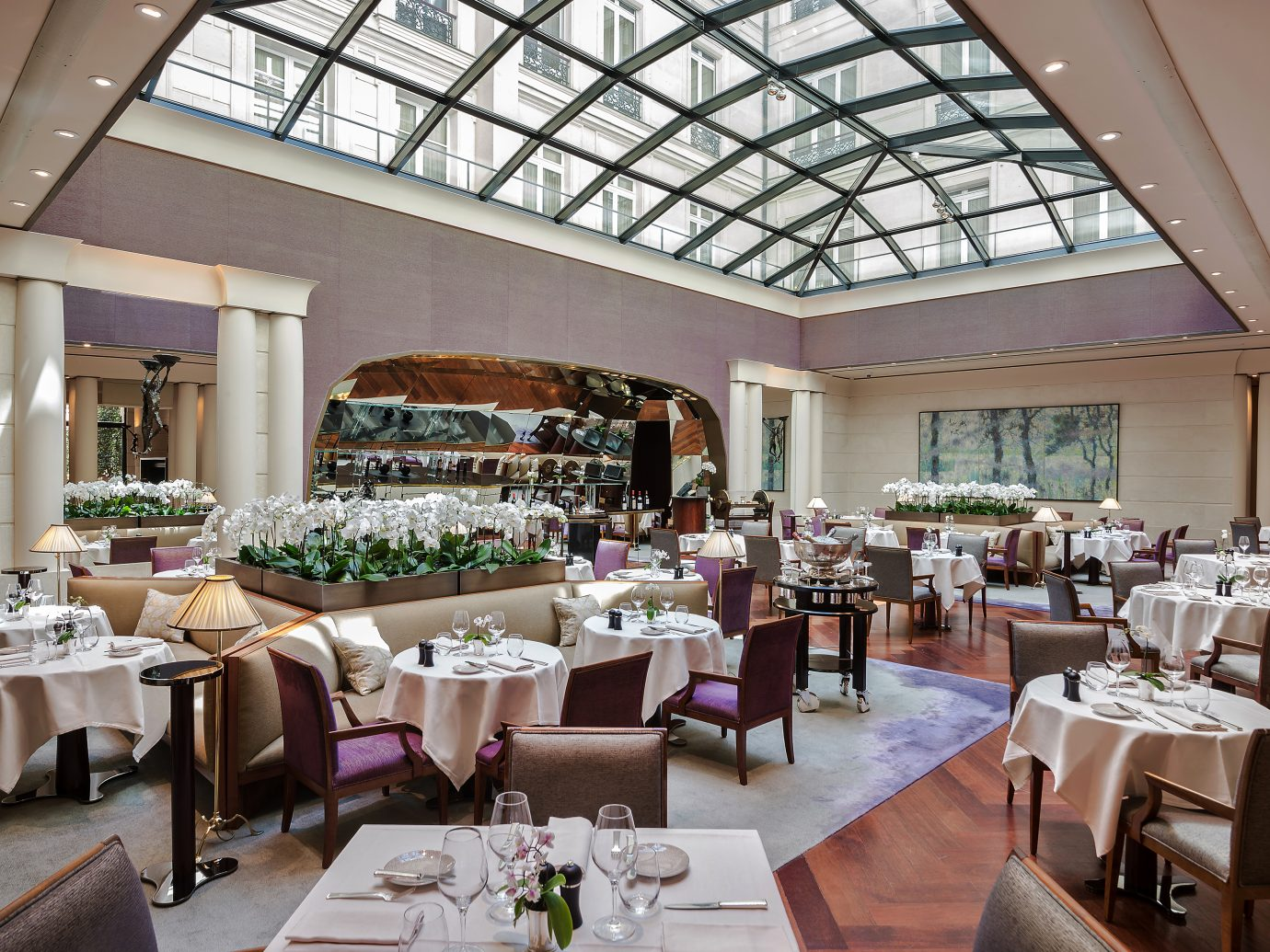 Restaurant of Park Hyatt Paris Vendome