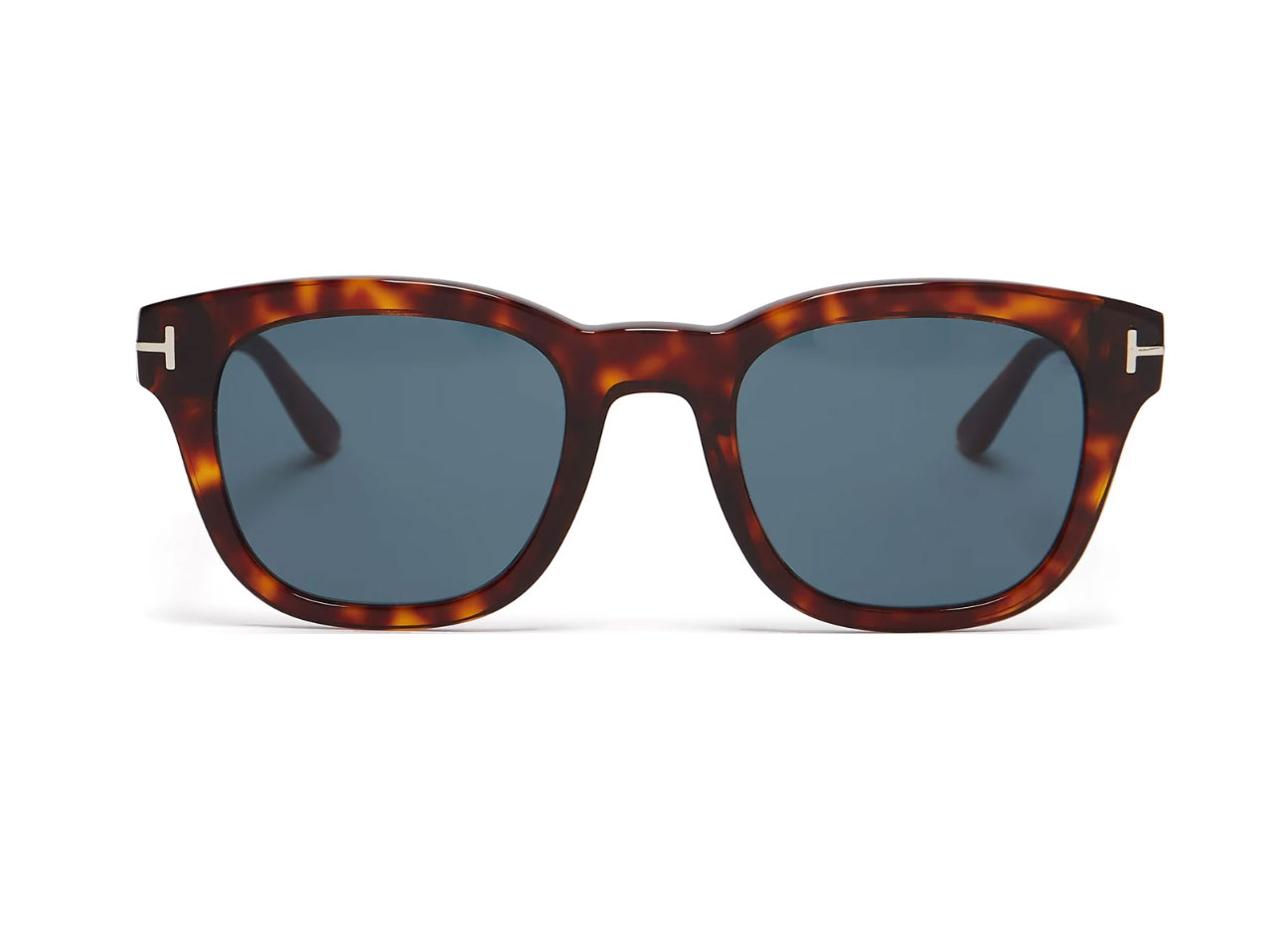 TOM FORD EYEWEAR Square-frame tortoiseshell acetate sunglasses