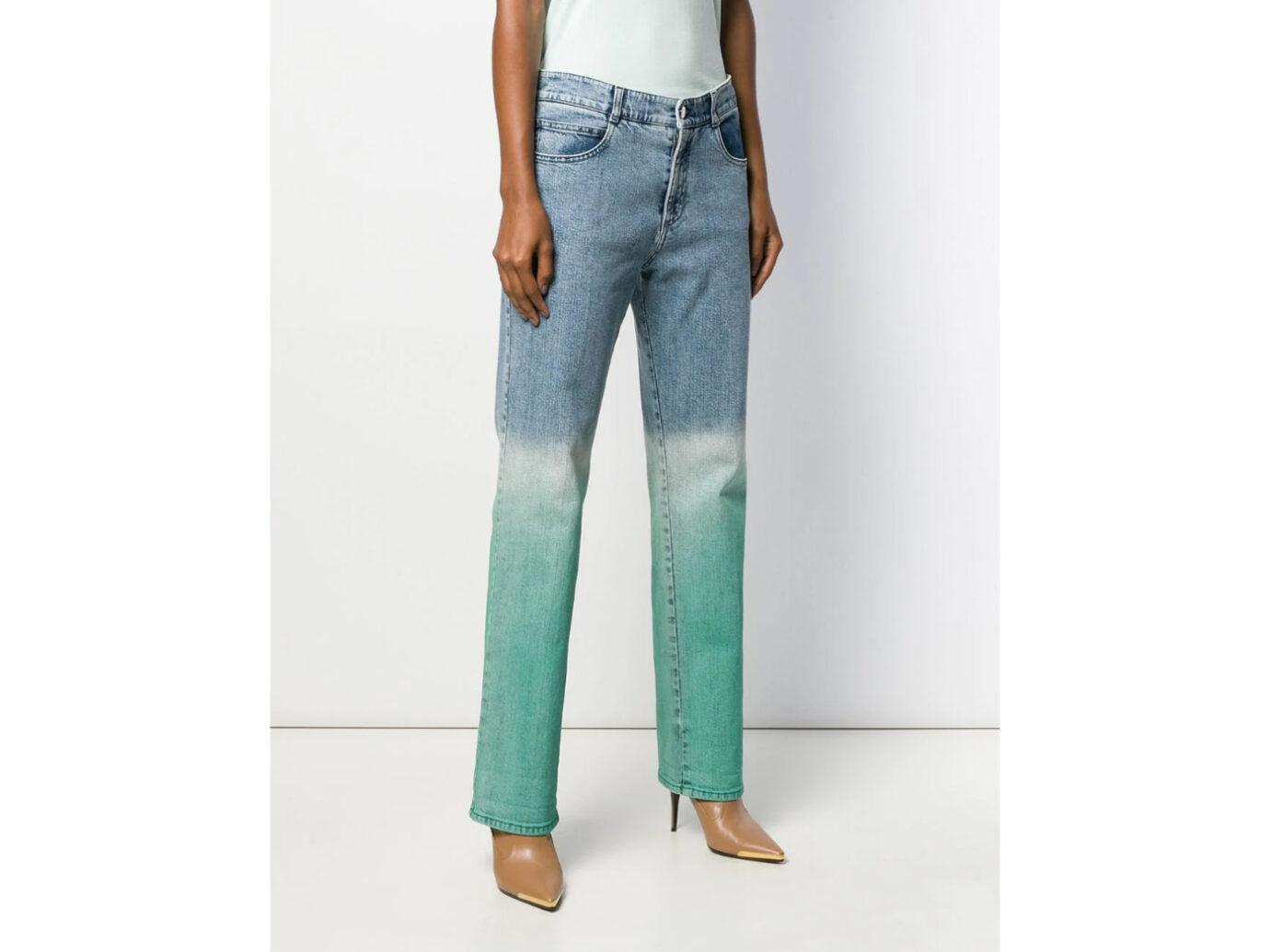 Stella McCartney Dip-Dye Jeans