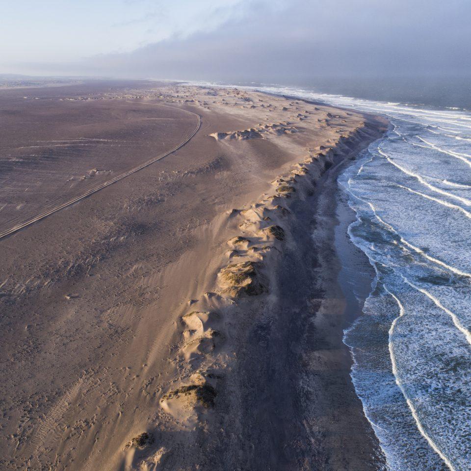 rocky Namibian coast