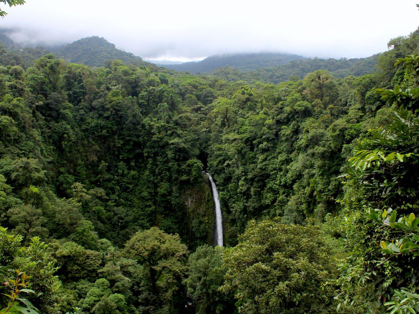 La Fortuna Waterfall in Costa Rica